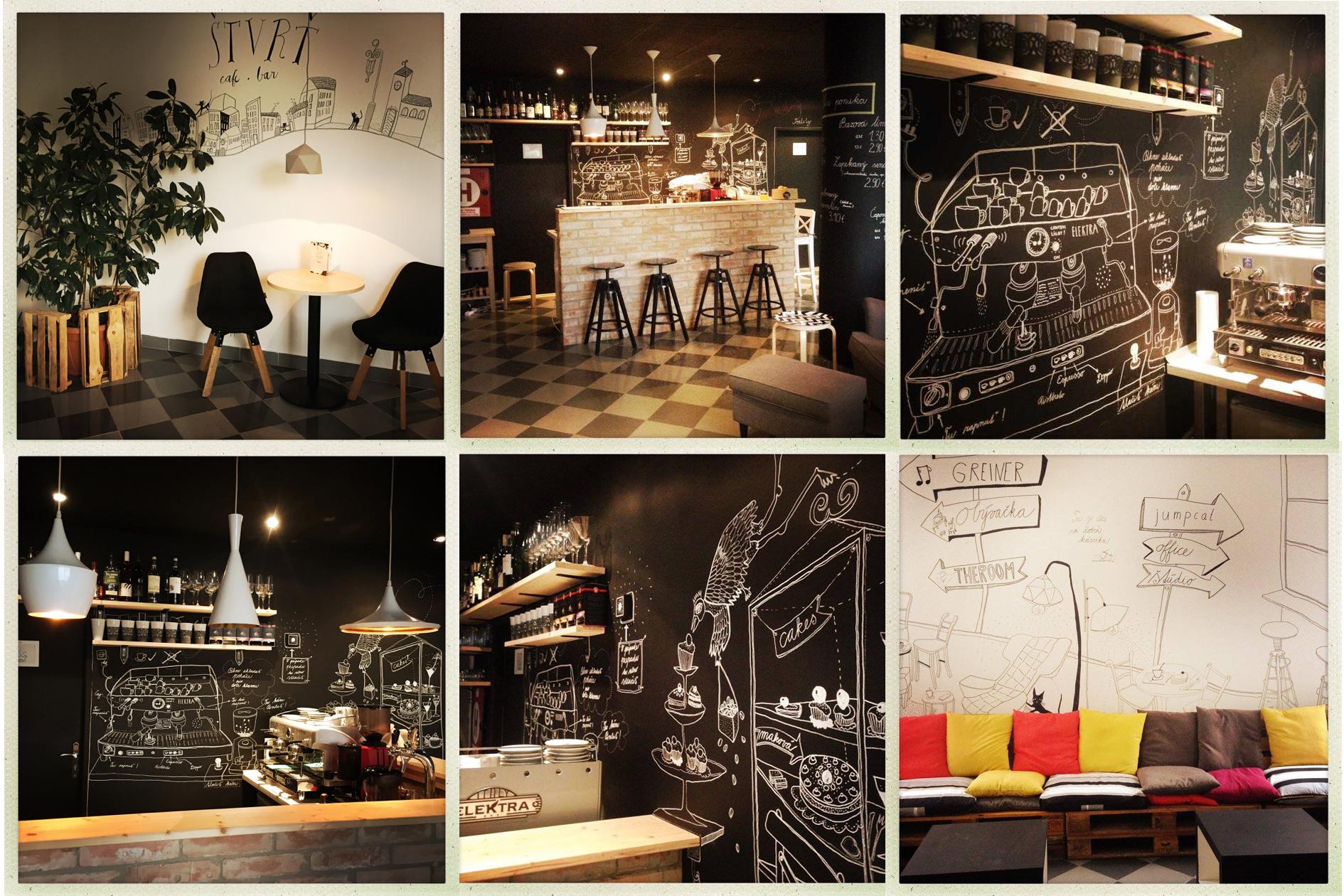 Kaviareň ŠTVRŤ cafe 136