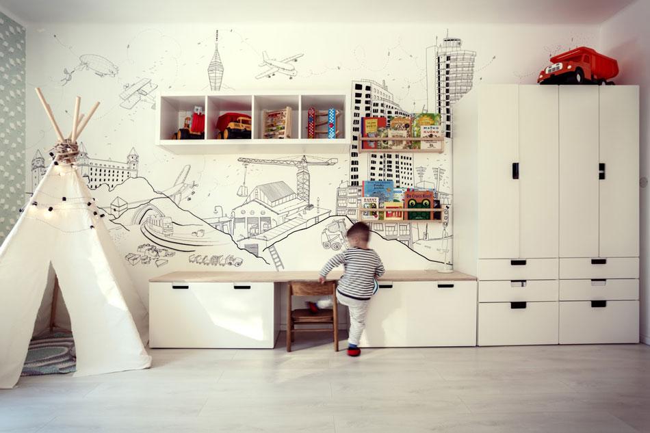Detská izba pre malého Peťka 1