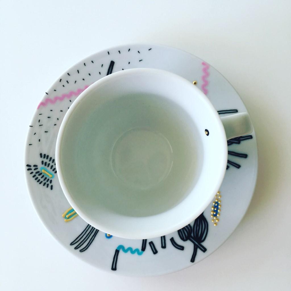 Zážitkový kreslený porcelán 2