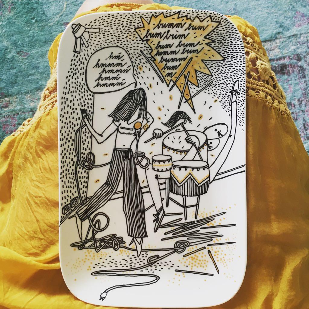 Zážitkový kreslený porcelán 33