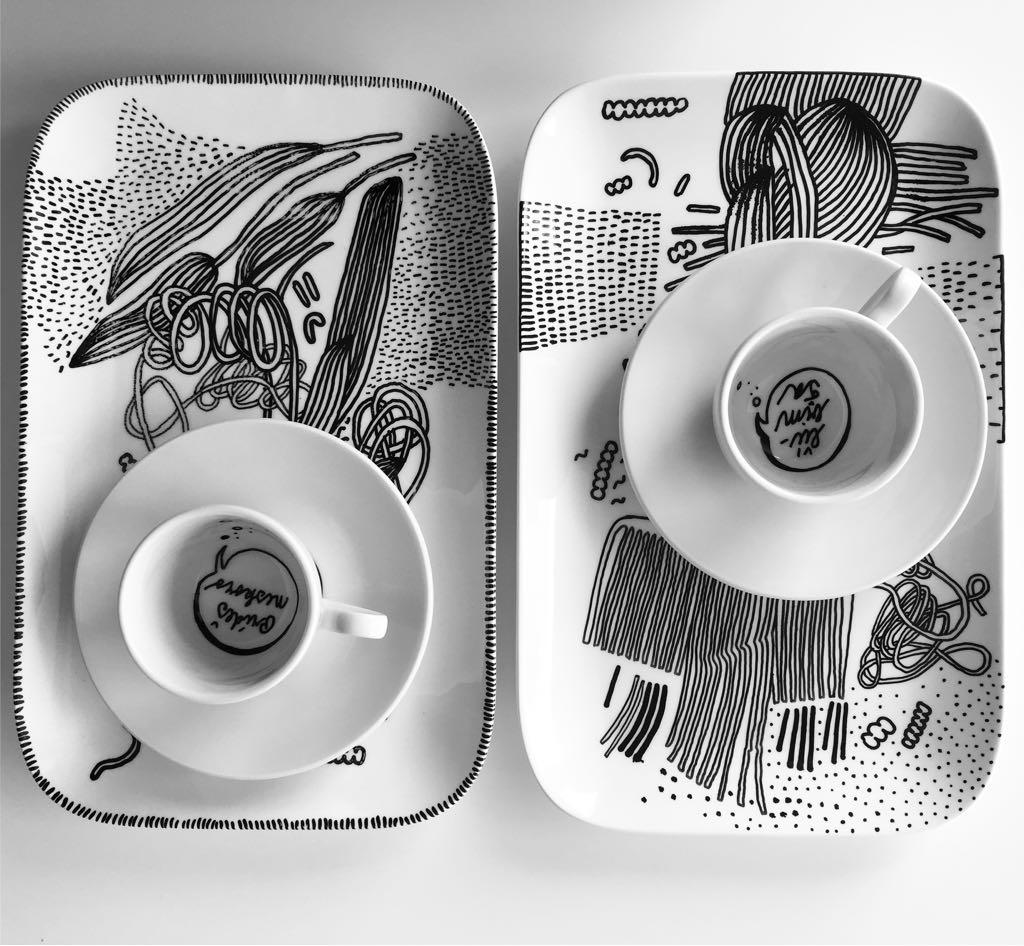 Zážitkový kreslený porcelán 34