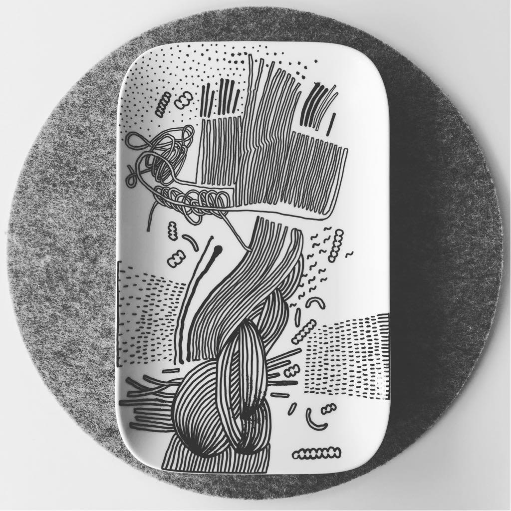 Zážitkový kreslený porcelán 35
