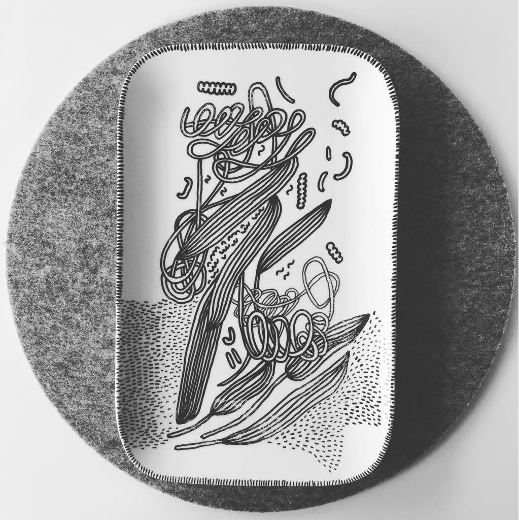 Zážitkový kreslený porcelán 36