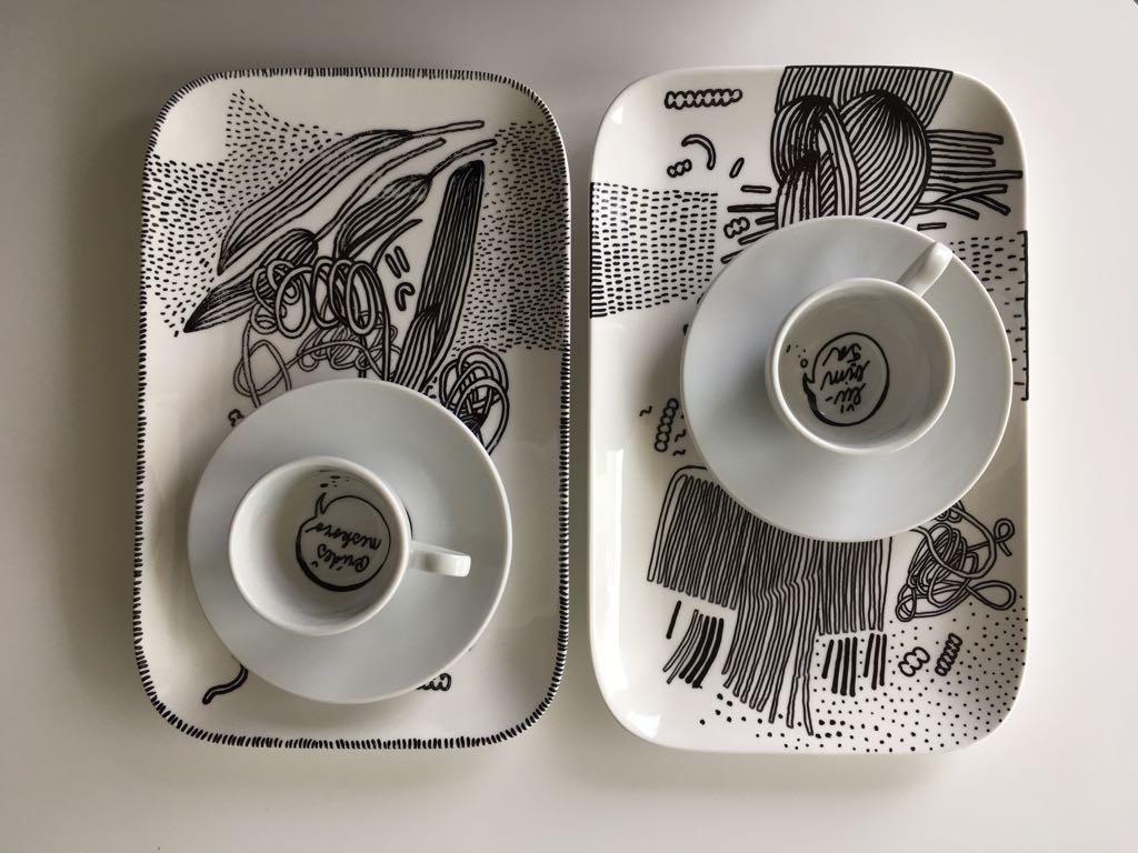 Zážitkový kreslený porcelán 14