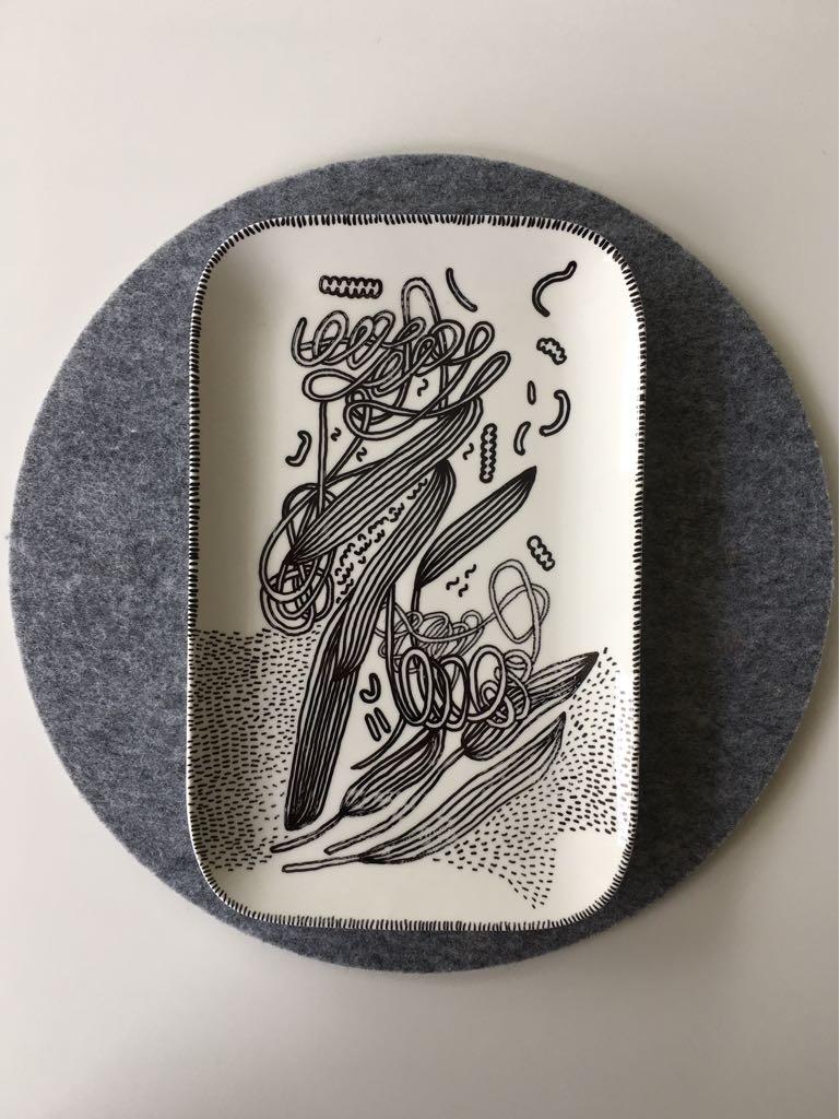 Zážitkový kreslený porcelán 42
