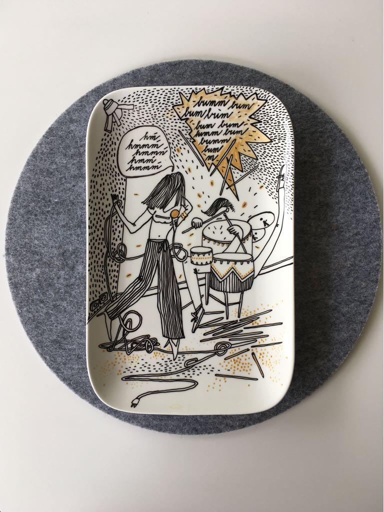 Zážitkový kreslený porcelán 43