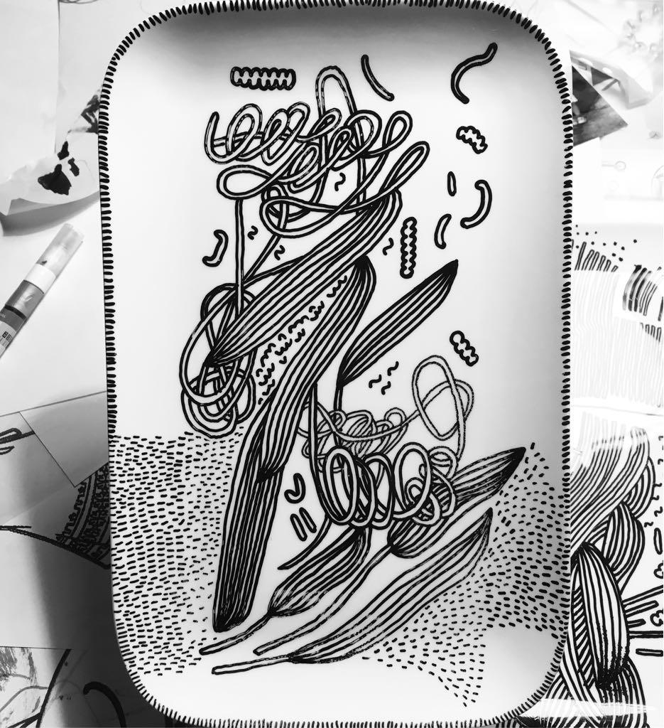 Zážitkový kreslený porcelán 46