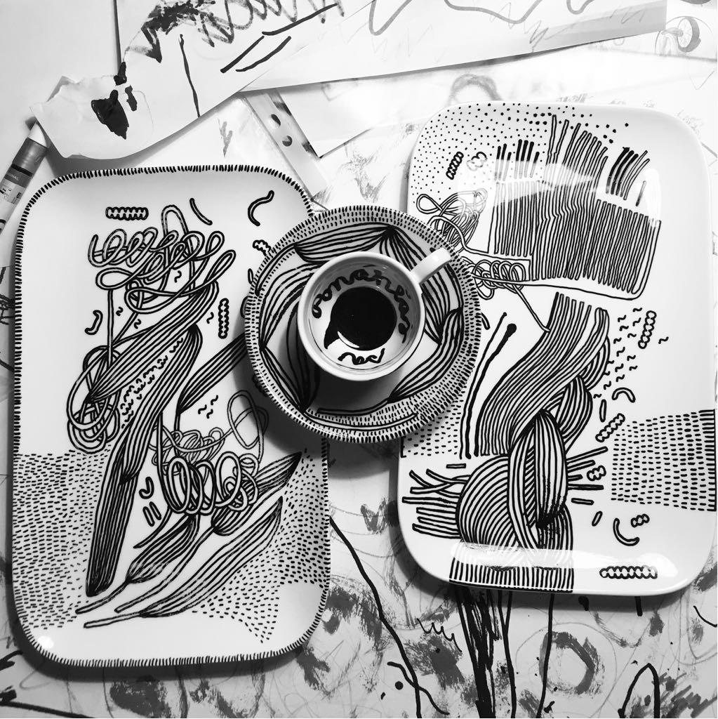 Zážitkový kreslený porcelán 47