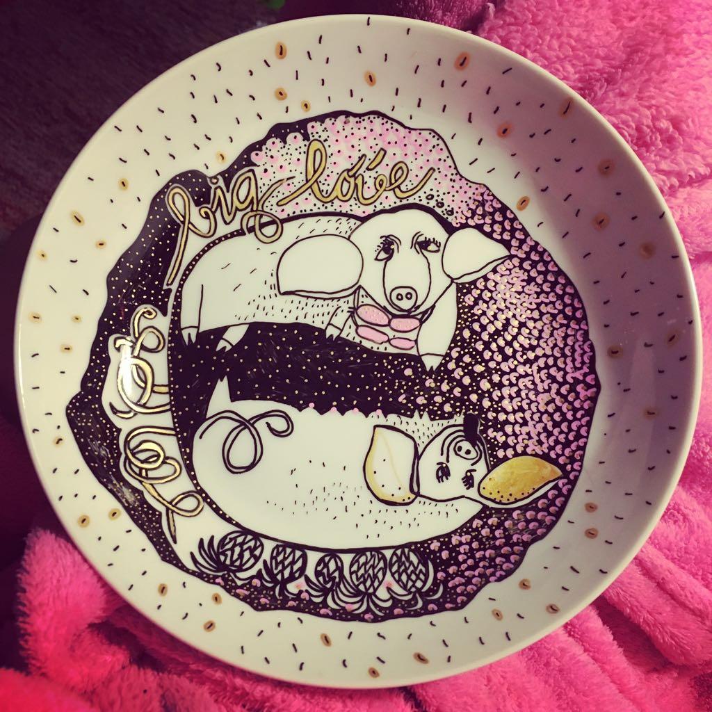 Zážitkový kreslený porcelán 30