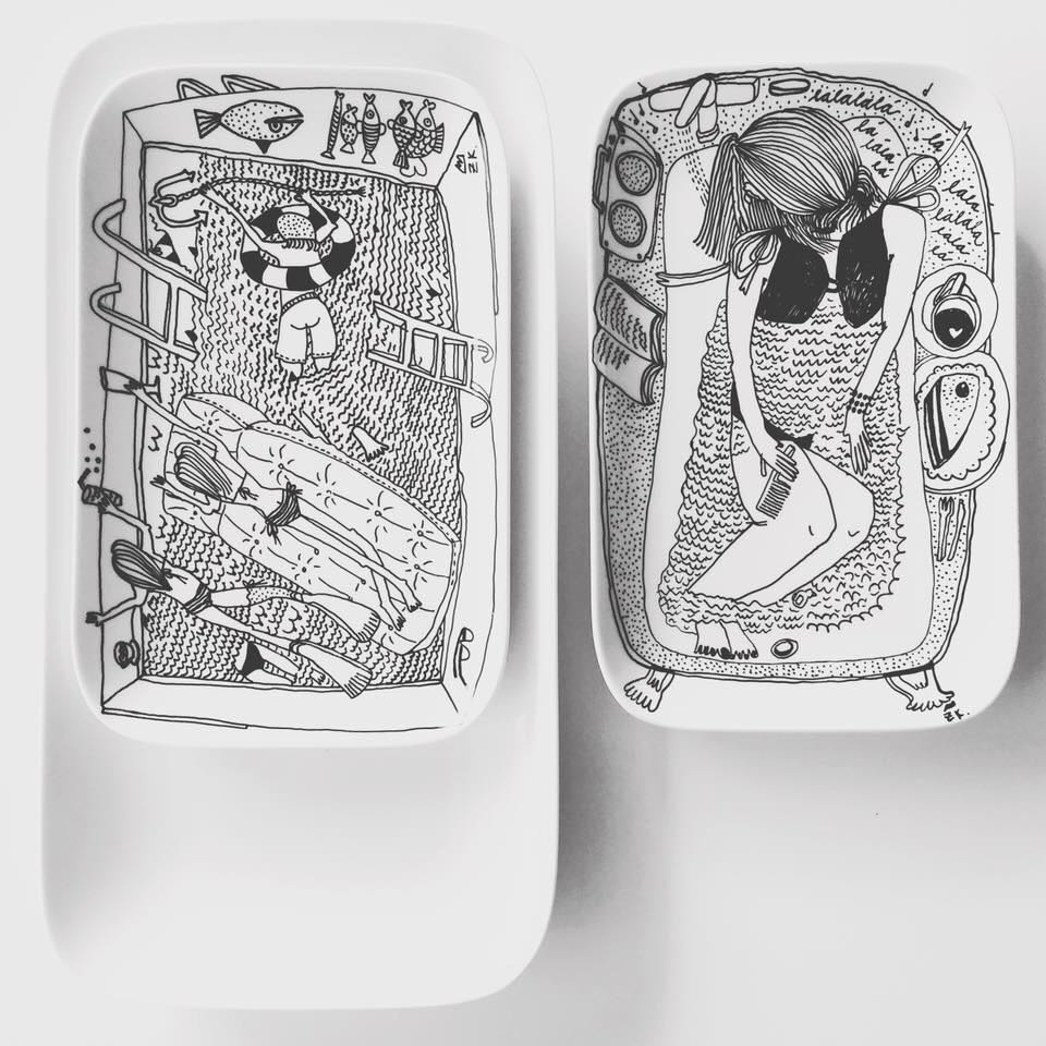 Zážitkový kreslený porcelán 56