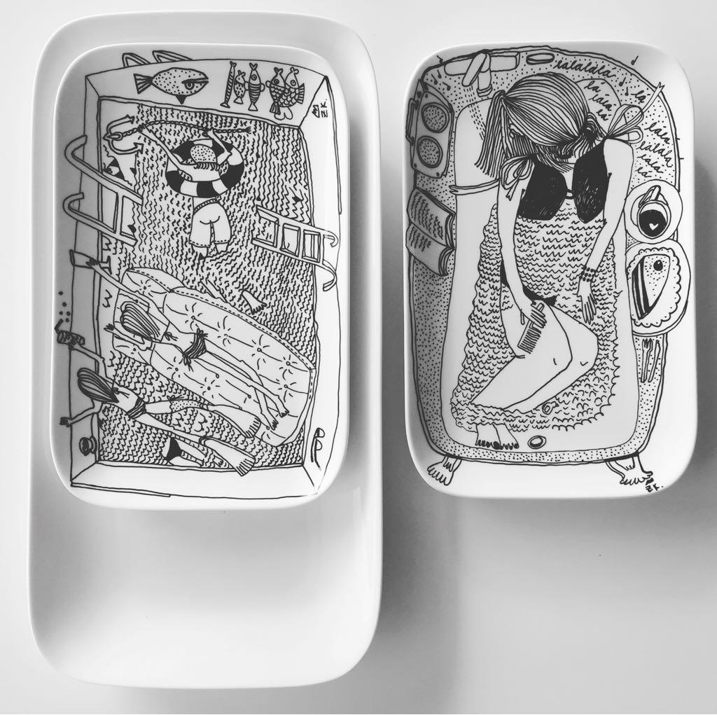 Zážitkový kreslený porcelán 66