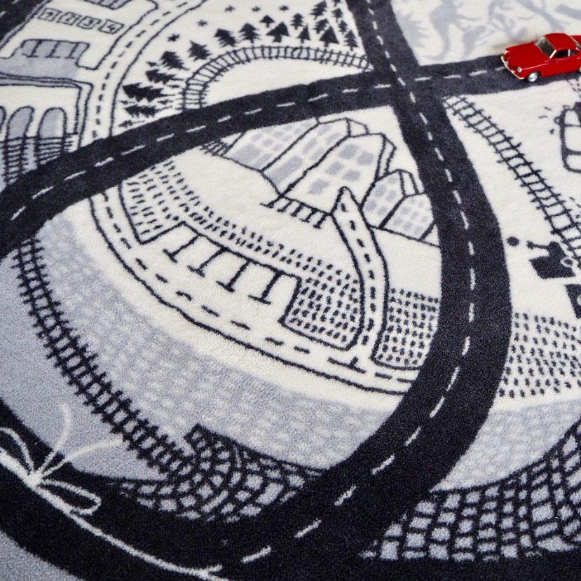 Nekonečná autodráha - detský koberec 3