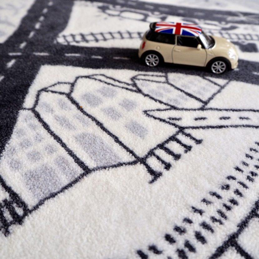 Nekonečná autodráha - detský koberec 4