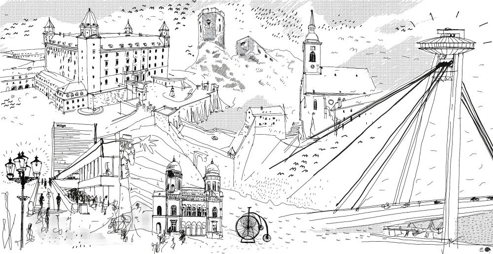Ilustrácia Bratislava vol. II. 11