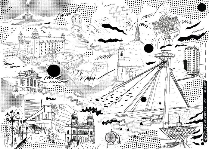 Ilustrácia Bratislava vol. II. 12