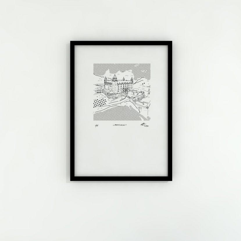 Ilustrácie Slovenské mestá II. EDÍCIA 1